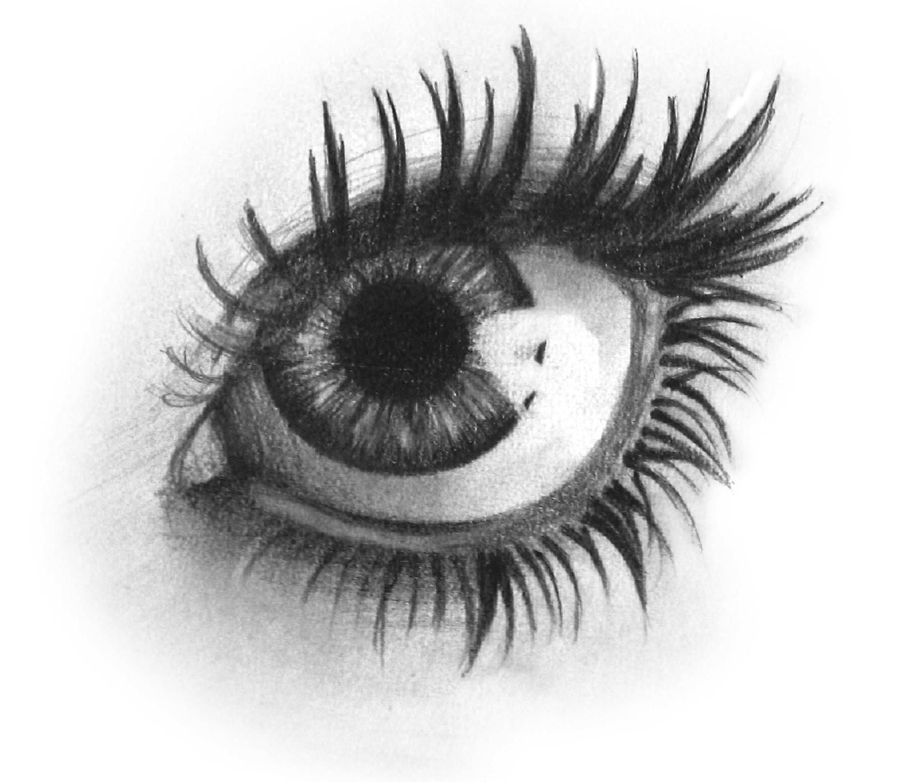 Girl Eyes Drawing Drawing Girl e