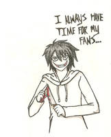 Jeff's Fans Are Lucky~! by Negi-Magi
