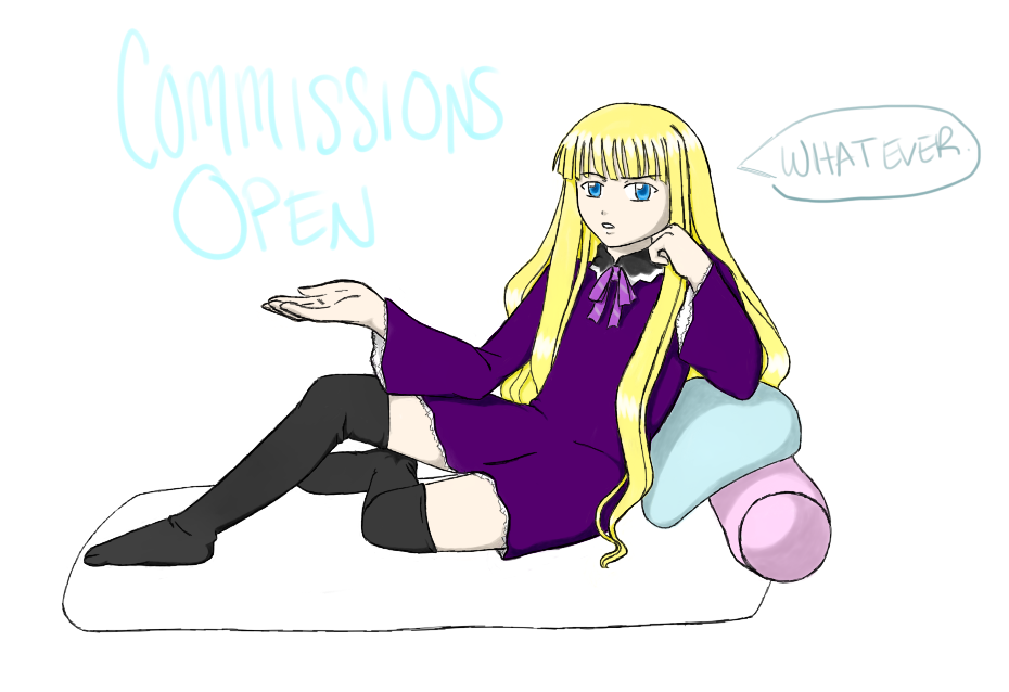 Commissions open! by Negi-Magi