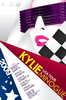 Kylie USA Tour Poster by spader725