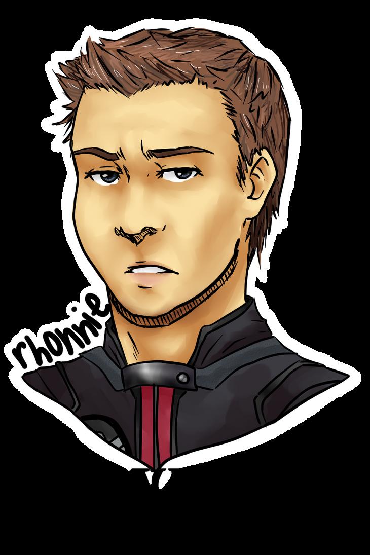 Hawkeye by rhonnnnie