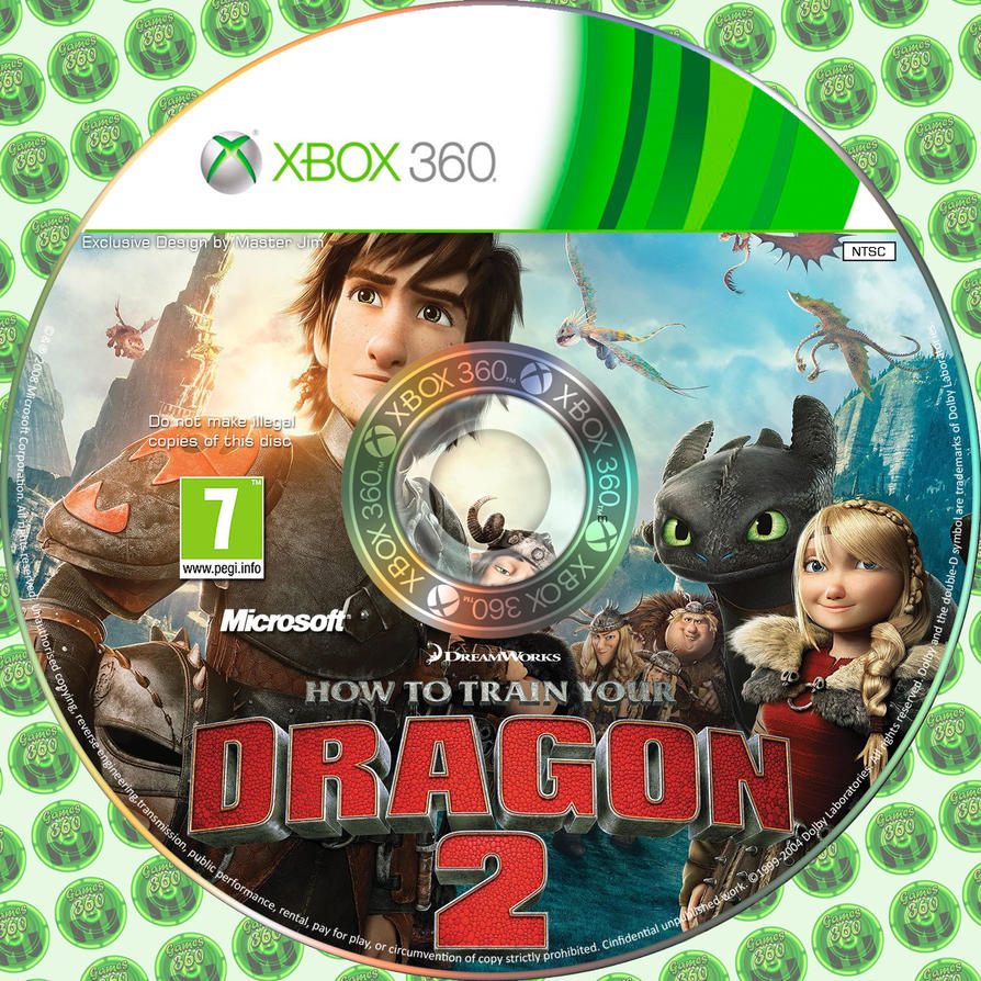 How to train your dragon 2 disc cover xbox 360 by masterjim360 on how to train your dragon 2 disc cover xbox 360 by masterjim360 ccuart Choice Image