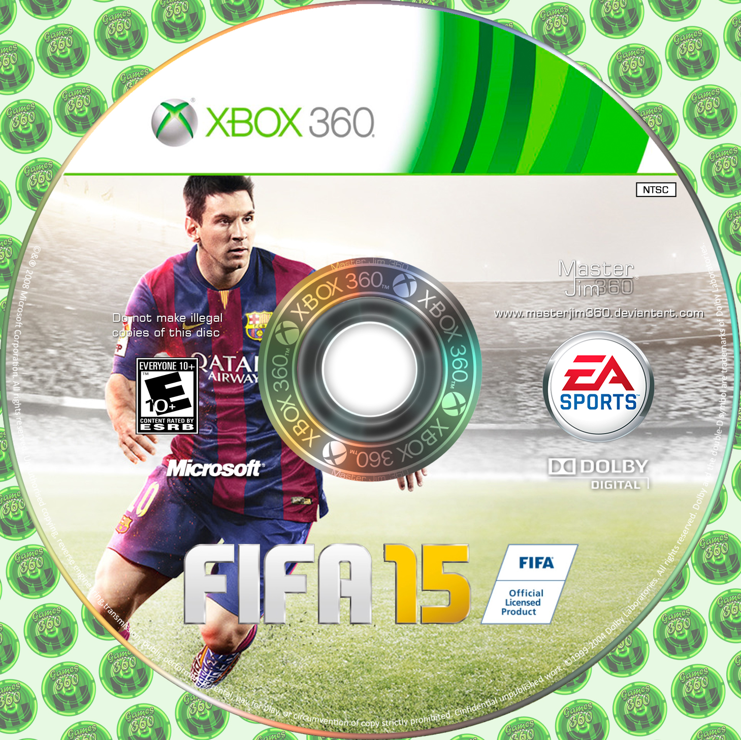 how to fix a xbox 360 game disc