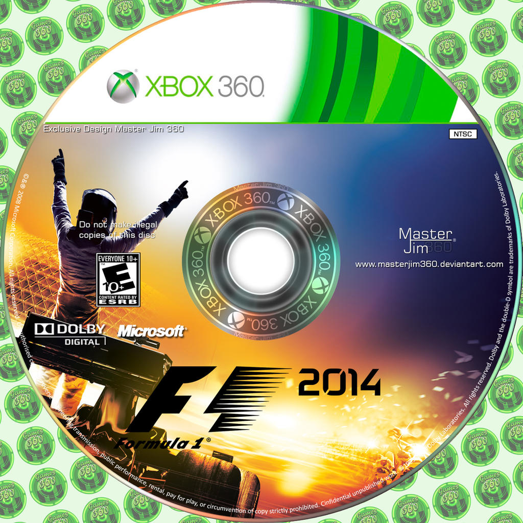Xbox 360 Game Covers 2014 f1 2014 Xbox 360 Cover by