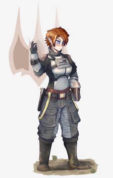 Mandalorian Bomber Regiment Commander