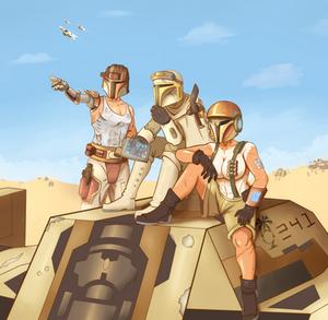 The Desert Advance