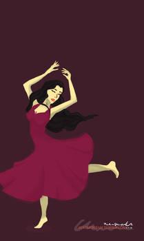 Dancing Asami