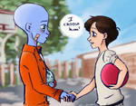Megamind and Roxanne