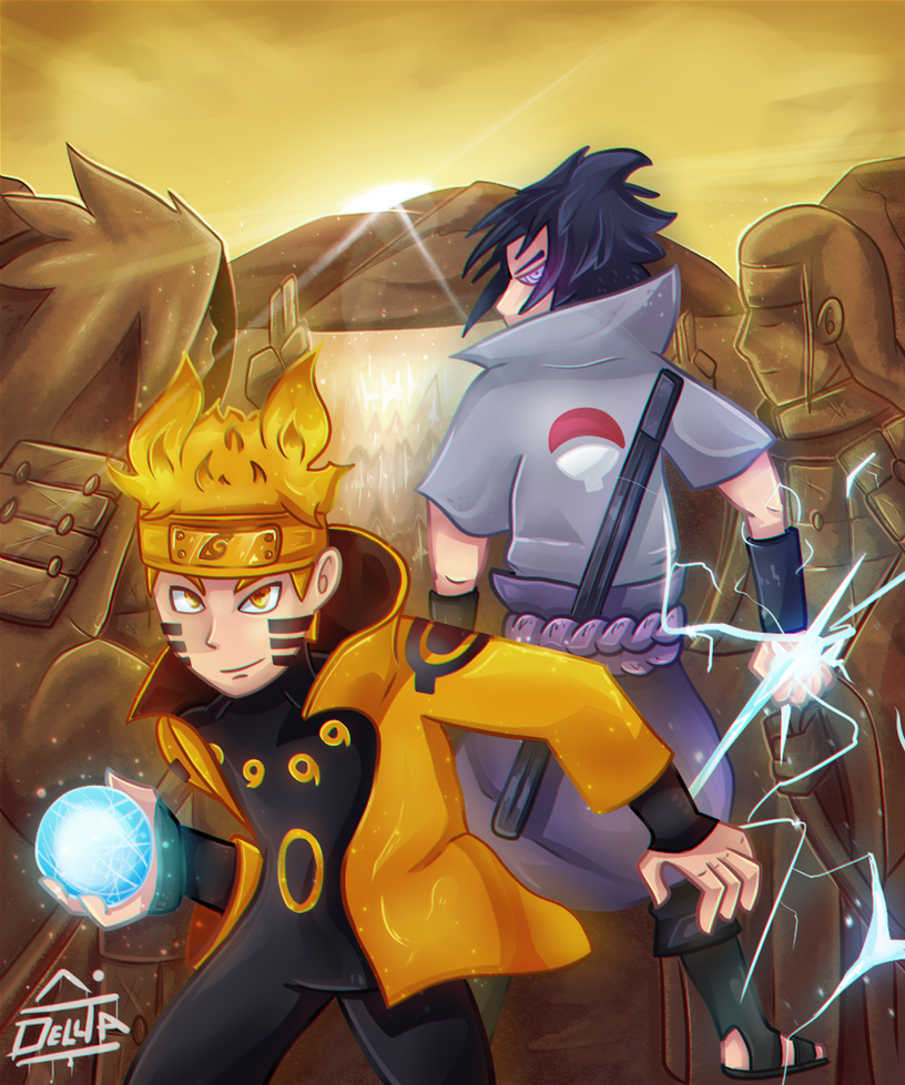 Naruto vs sasuke by delltaman on deviantart - Naruto as sasuke ...