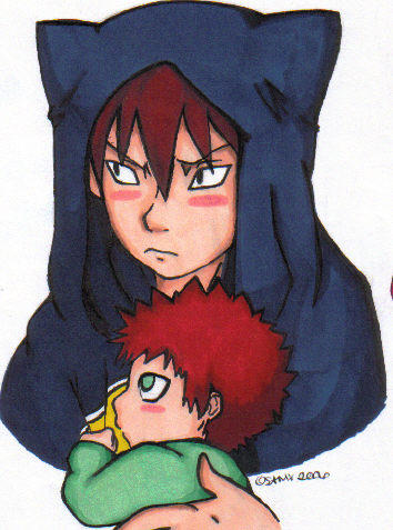 Kankuro and Gaara by funeralgirl on DeviantArt Gaara And Kankuro Brothers