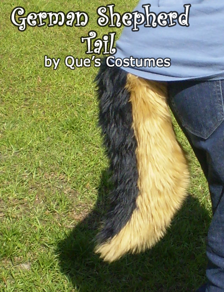 German Shepherd Tail by Que-Sera-Sera