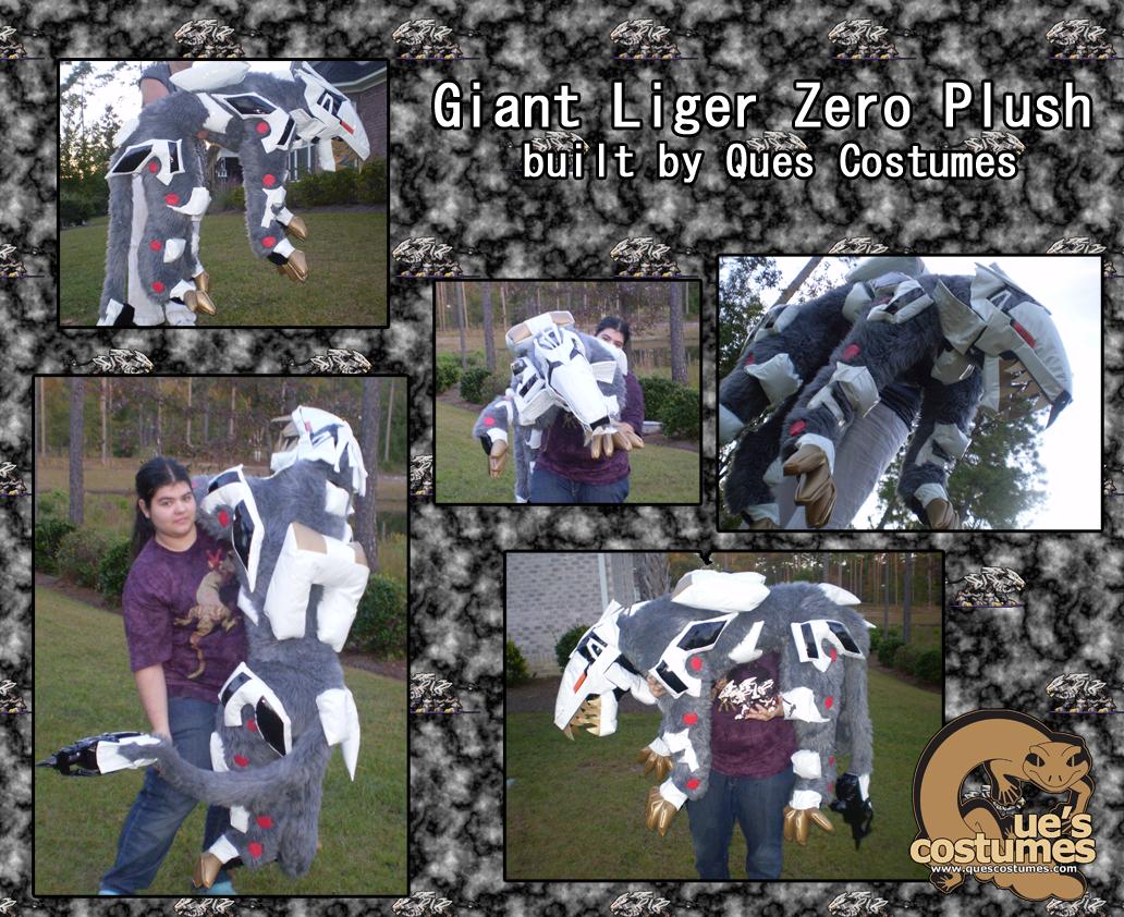 Giant Liger Zero Plush by Que-Sera-Sera