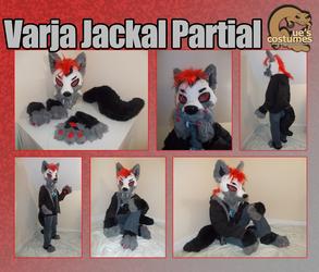 Varja Jackal Partial by Que-Sera-Sera