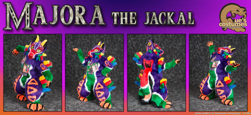 Majora the Jackal by Que-Sera-Sera