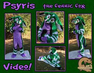 Psyris the Fennec Fox (Updated) by Que-Sera-Sera
