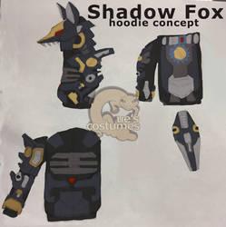 Shadow Fox Hoodie Concept Art by Que-Sera-Sera