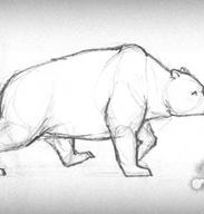 Bear walking cycle by Tanita-sama