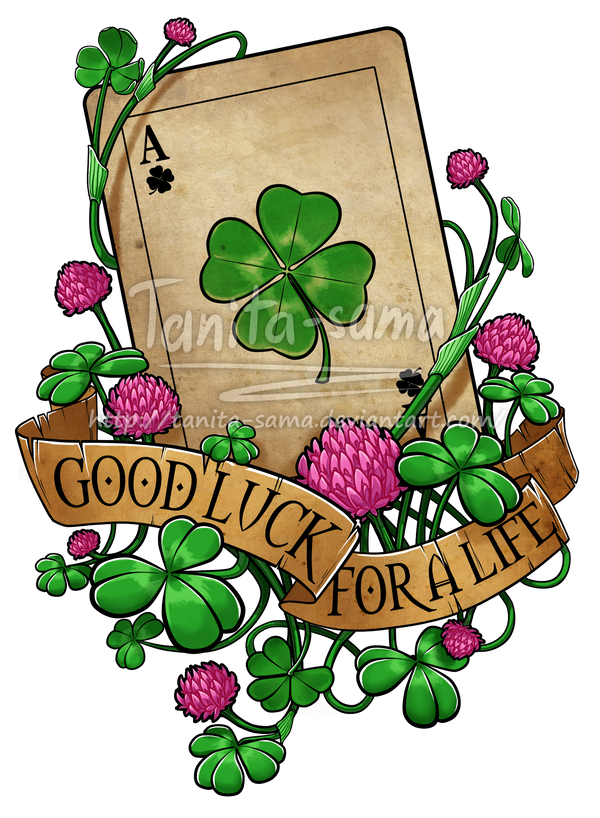Good Luck for a life COMMISSION by Tanita-sama