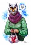 Auntie Owl by Tanita-sama