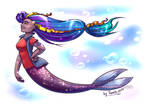MerMay - Day 01 Extravagant by Tanita-sama