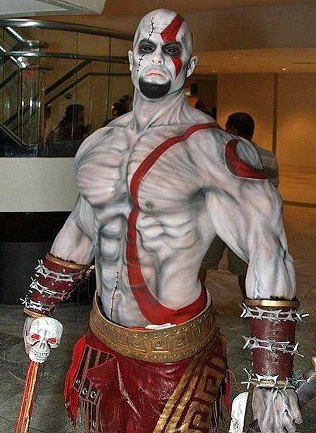 Kratos by builtbytallsteve