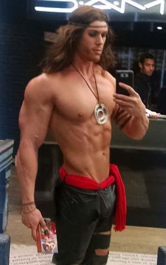 Tarzan, Conan, Pirate? by builtbytallsteve