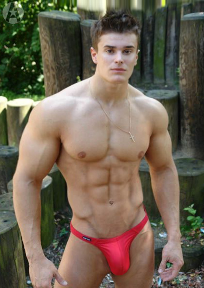 hot hung guy