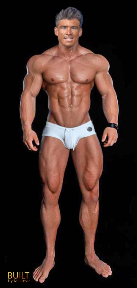 how to build big legs at home