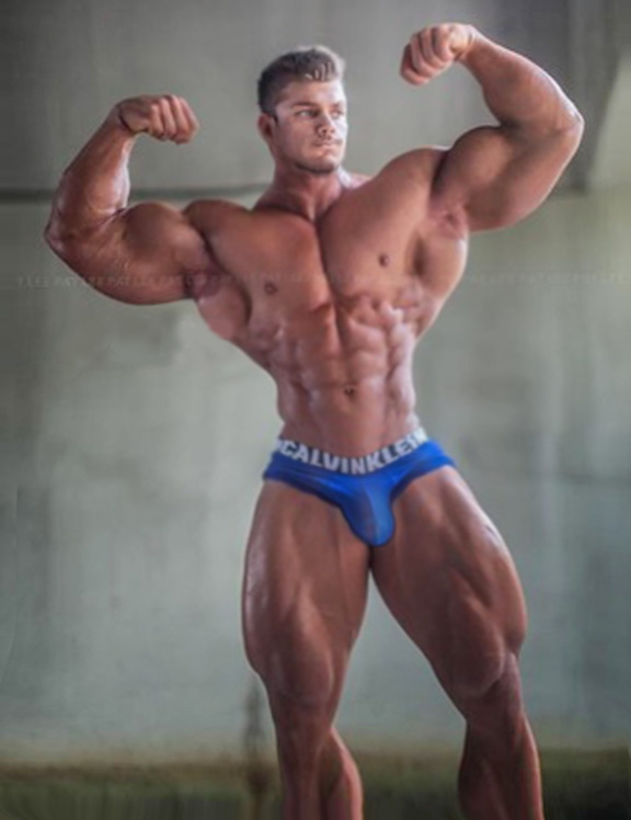 Big Arms In Blue by builtbytallsteve