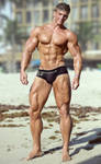 Stud On the Beach by builtbytallsteve