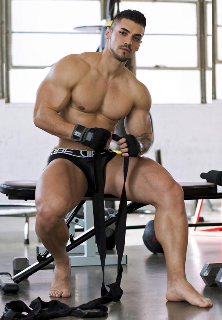 Big muscle gays cowboy sex daddy and really