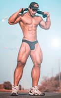 Tall Athlete by builtbytallsteve