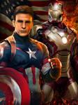 Civil War Fan Art - Digital Oil Painting
