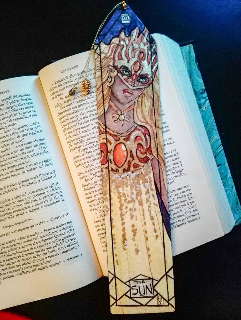 Bookmarks - The Sun by Hayele