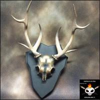 3D Printed Deer Skull