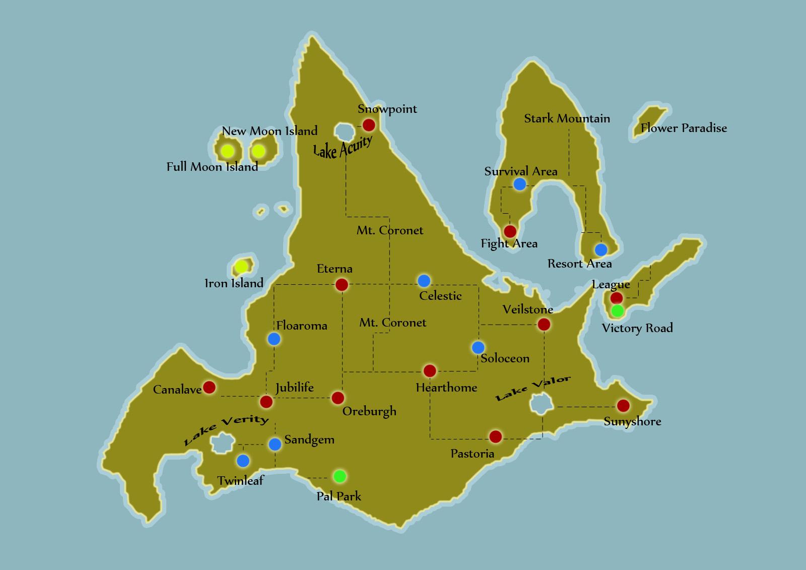 map of sinnoh by coconutman99 on deviantart