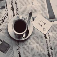 Love tea by indrekvaldek