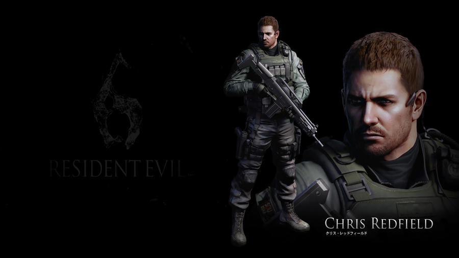 Resident evil 6: Chris Redfield by heatheryingNL