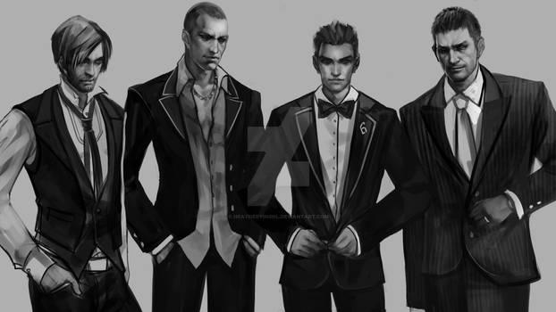 Resident Evil Men In Suit