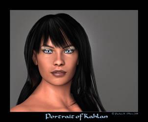 Portrait of Kahlan by Pachou31