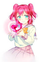 Little Ruby, little heart by kiraposhi
