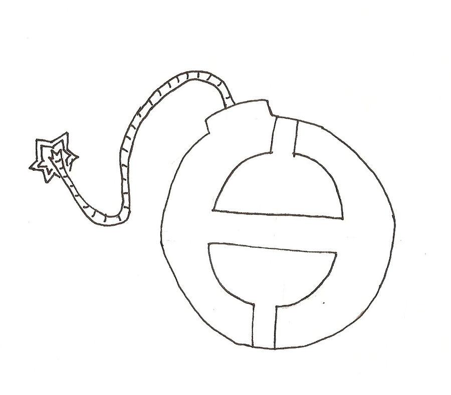 tattoo design h bomb by nuclearconvoy on deviantart. Black Bedroom Furniture Sets. Home Design Ideas