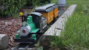 Rocketing down the rails