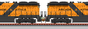 ARA 116 and 117 - First GP-40-TGX Type Engines