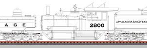 AG-2 Class 2-8-0+0-8-2