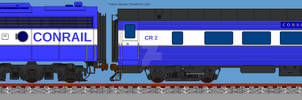 Conrail Office Car Special (OCS) Freelance Design