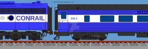 Conrail Office Car Special (OCS) Freelance Design