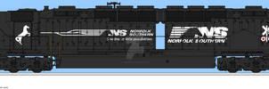 Trainiax.net - Norfolk Southern DDA40X No.6999