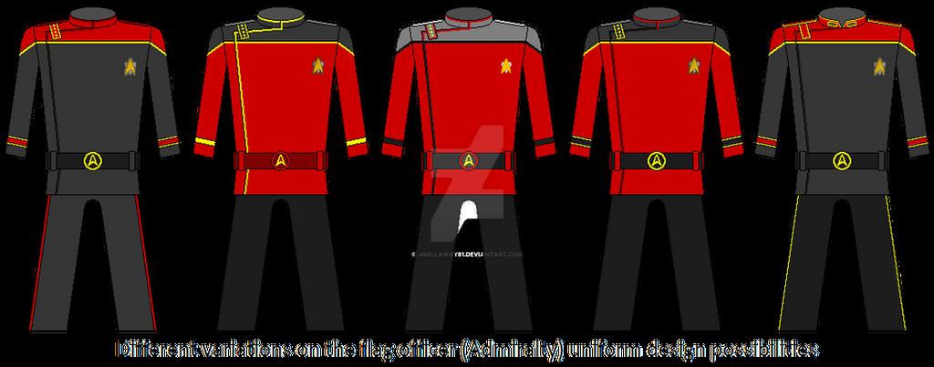 Uniform Evolution - Flag Officer