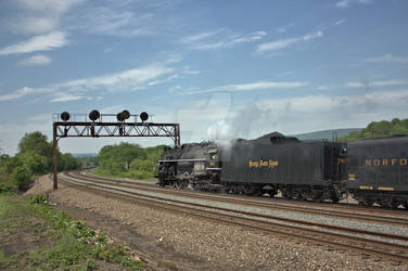 NKP 765 - Westbound at PT225
